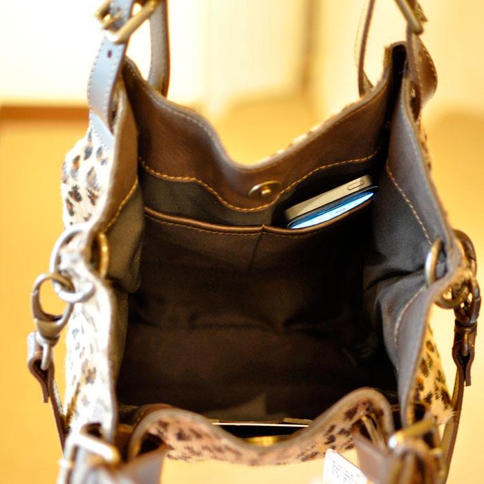 Alchimia [アルキミア] ハラコレパード柄2WAYバッグ