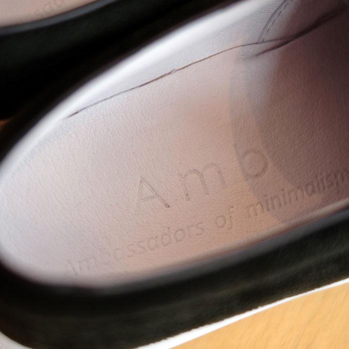 Amb [エーエムビー] メンズサイドゴアブーツミッドBLACKスエード