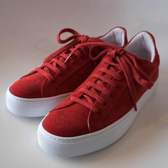 Amb(エーエムビー・アンバサダーズ)レディース Low Cutスニーカーcroute red / 9838 L