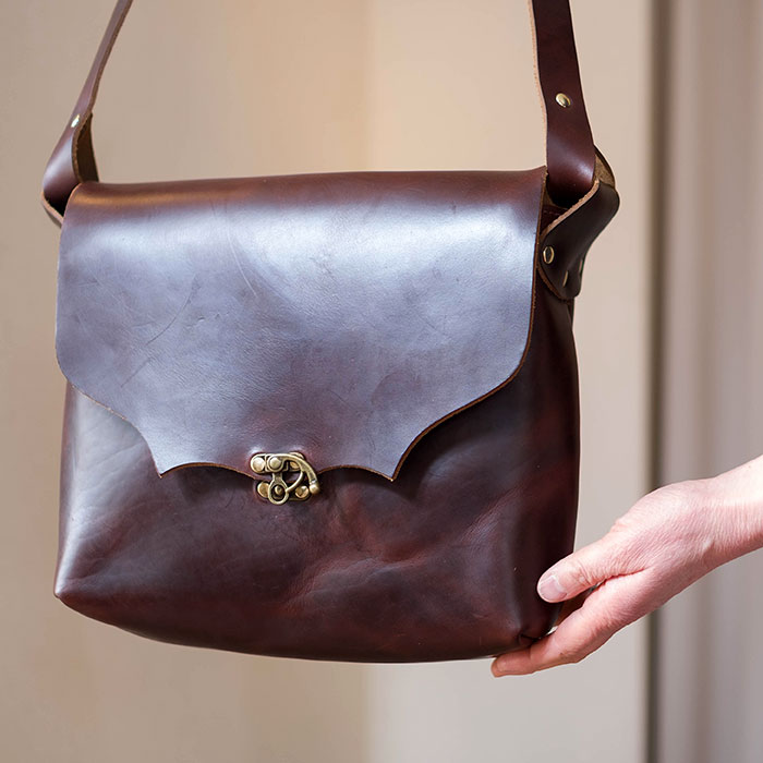 Fernand Leather( フェルナンド レザー )Milliron ML bag brown