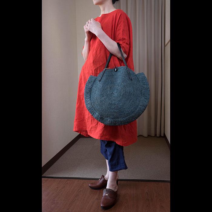 Sans Arcidet/サンアルシデ Nova Bag S #blue jen