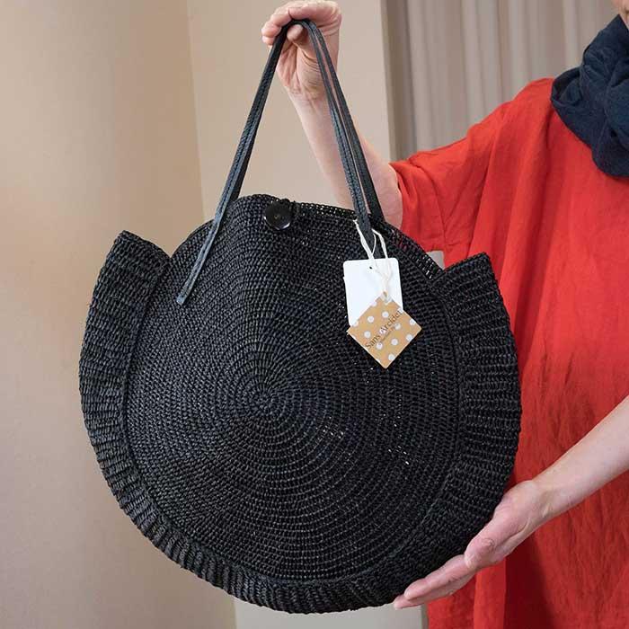 Sans Arcidet/サンアルシデ Nova Bag S #black