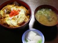牡蠣のキムチ丼