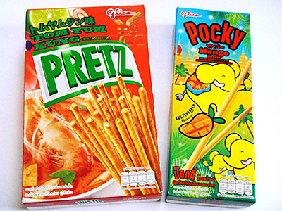 Pocky Mango,Prets Tom yum kung