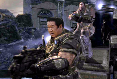 草野仁 in Gears of War