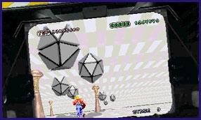 3D スペースハリアー ムービング筐体