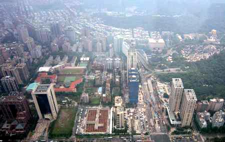 台北101展望台風景