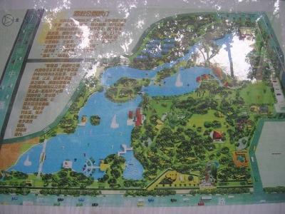 シンセンの公園