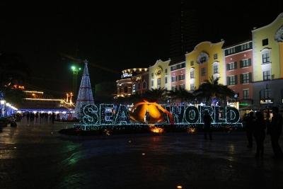 深センの海上世界クリスマス6