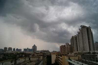 深センの雲