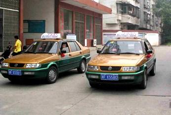 湖南のタクシー