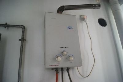 中国の給湯器