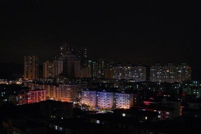 深センの夜景