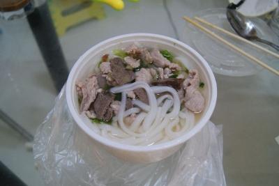 深センの麺