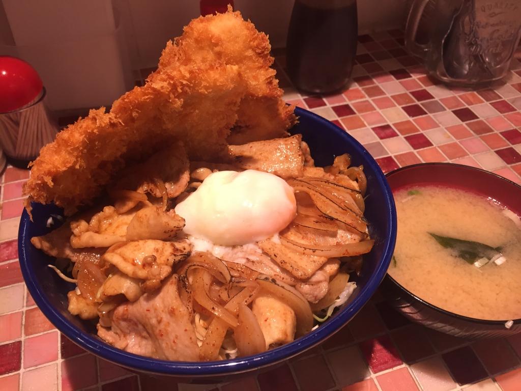 キッチン男の晩ごはん 吉祥寺店 / スタミナ野郎丼