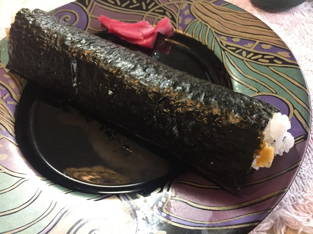 恵方巻(椎茸抜き)