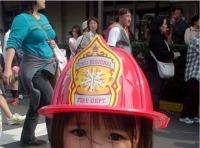 横須賀 米軍キャンプ うみかぜ公園 桜祭り 消防車