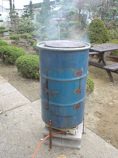 北海道 帯広 ドラム缶 燻製