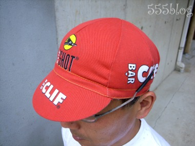 555nat.com ホロホロ日記 REI PACE Clif Bar サイクルキャップ