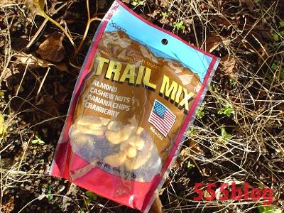TRAIL MIX トレイルミックス 携帯食 555ブログ 555nat.com トレイルライド