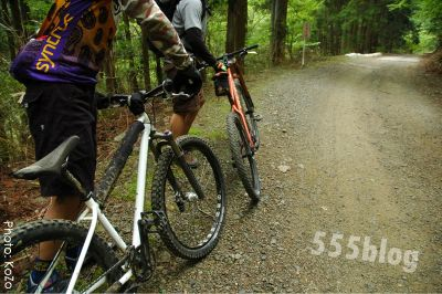 三重バックロードツアーズ 自転車ガイドツアー やまめの学校 トレイルライド 555nat.com ホロホロ日記