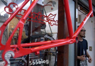 フレームビルダー 高円寺 SUNRISE CYCLES サンライズサイクル ホロホロ日記 555nat.com