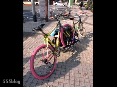自転車一台積み 555nat.com ホロホロ日記 ロングテールバイクライフ