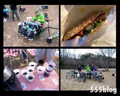 ロングテールバイクライフ 福生 2012 Eat Ride Smile クラムチャウダーピクニック