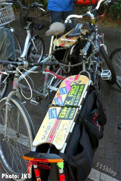 ロングテールバイク駐輪情報 世田谷区役所駐輪場 555nat.com ホロホロ日記