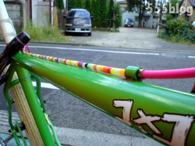 ホロホロ日記 555blog 555nat.com 色キチ・ブラザース特製Surly 1×1カスタム自転車