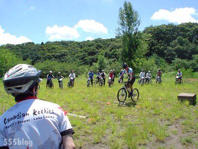 NPO法政クラブMTBマウンテンバイク。月イチ体験会の様子(3)
