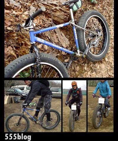 ホロホロ日記 555nat.com 笑顔を誘う自転車。ファットバイク Fat Bike Life