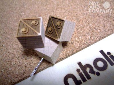 555nat.com ホロホロ日記 ナット&カンパニー 商品企画 パズルの二コリ社 特性メッセージボード いろはに木工所 2013年