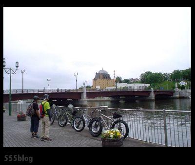 ホロホロ日記 555nat.com 2013年7月 釧路旧市街地区ファットバイククルージング(1)