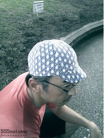 注染手ぬぐいサイクルキャップ「麻の実」2013年NEW