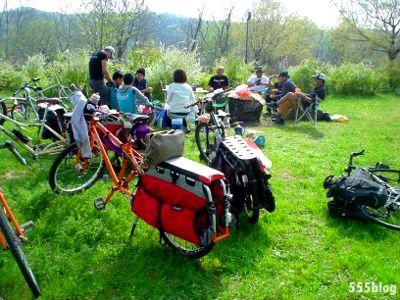 555nat ホロホロ日記 ロングテールバイク・ポットラック・バイクパーティ 自転車ライド 2014.4.16(2)