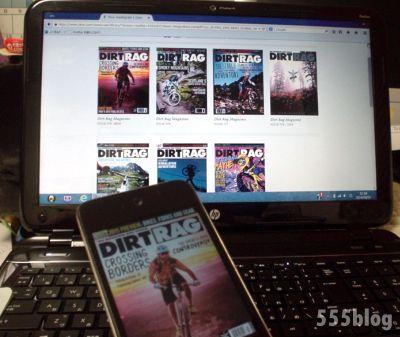 ホロホロ日記 555nat.com zinio online newsstand dirt rag magazine ダートラグ デジタル本