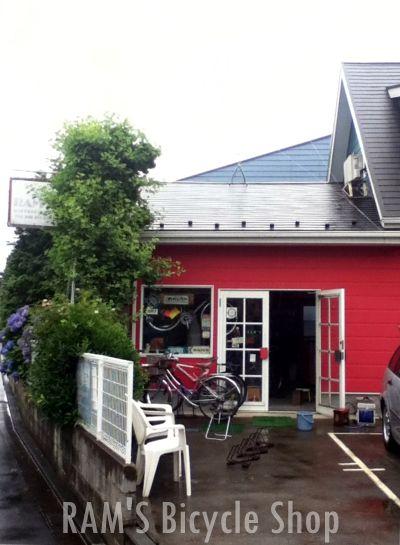 ホロホロ日記 555nat.com bicycle shop RAMS 神奈川大和南林間 ラムズ自転車店 VAN JACKET 1970s アメリカンバイシクル The SHAPES