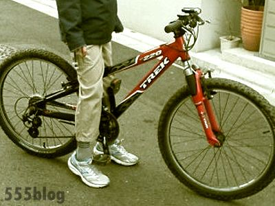 ホロホロ日記 555nat.com Nat and Company 自転車 リサイクルバイシクル TREK 220