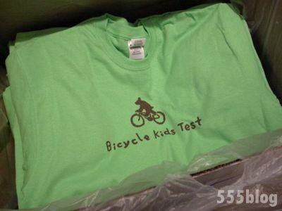 ホロホロ日記 555nat.com  自転車キッズ検定 スタッフTシャツ(リピート生産) 2016