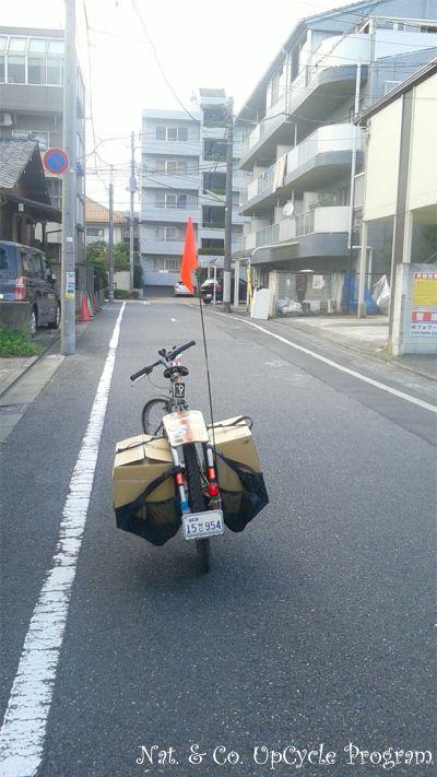 �ۥ�ۥ��� 555nat.com upcycle �Ļ�ë��Ź�� ����ȥ�ޥ�Ź�� 10��ǯ�ե�å� ���åץ������� �Хå� ������ ��ž�֤�Ǽ�� ��ơ���Х��� longtailbike 2016ǯ