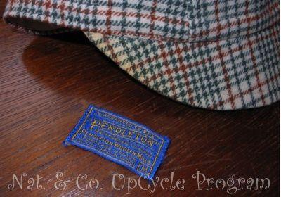 ホロホロ日記 555nat.com バンマスのWOOLサイクルキャップ Upcycle アップサイクル Pendleton ペンドルトン ウール