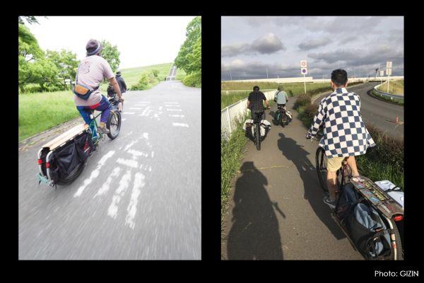 ホロホロ日記 555nat.com JK2017 Longtail bike Meeting EAST 彩湖 bike ride cycling saitama 2017.5.14 ロングテールバイク ミーティング(1)