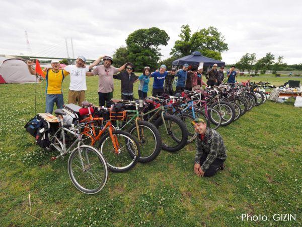 ホロホロ日記 555nat.com JK2017 Longtail bike Meeting EAST 彩湖 bike ride cycling saitama 2017.5.14 ロングテールバイク ミーティング(2)