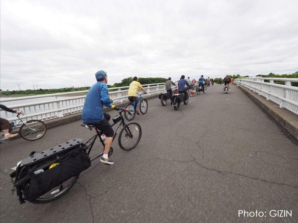 ホロホロ日記 555nat.com JK2017 Longtail bike Meeting EAST 彩湖 bike ride cycling saitama 2017.5.14 ロングテールバイク ミーティング(5)