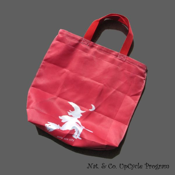 ホロホロ日記 555nat.com 2017.6.9 赤いドレスの女性とアップサイクルバッグ upcycle bag gatecity ohsaki ゲートシティ大崎