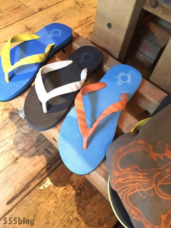 ホロホロ日記 555nat.com largo beach sandales ラルゴ 特製 ビーチサンダル 各色