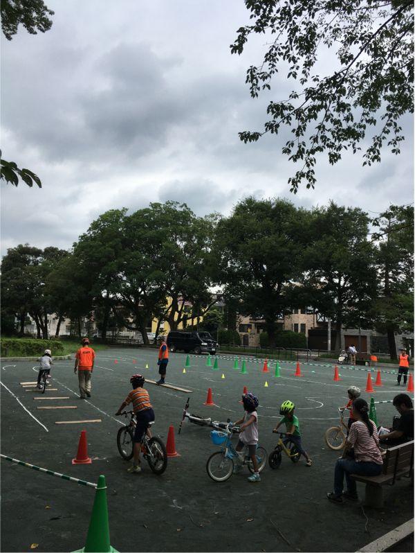 ホロホロ日記 555nat.com 東京 世田谷 上北沢 将軍池公園 自転車のみだしなみ教室 2018.8.20