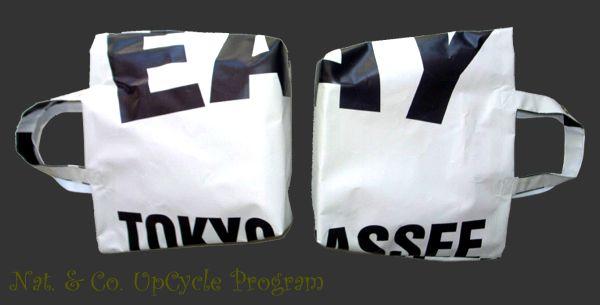 ホロホロ日記 555nat.com 555blog アップサイクル アースデイ バナー トートバッグ リサイクル earth day banner upcycle upcycling 2