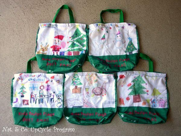 ホロホロ日記 555nat.com 555blog upcycle flag kids 2017 クリスマス アップサイクル フラッグ リサイクルバッグ